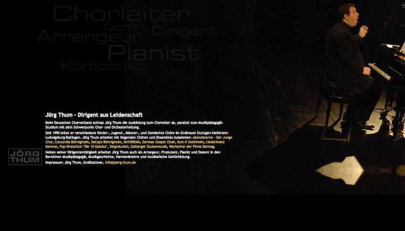 Jörg Thum - Dirigent aus Leidenschaft