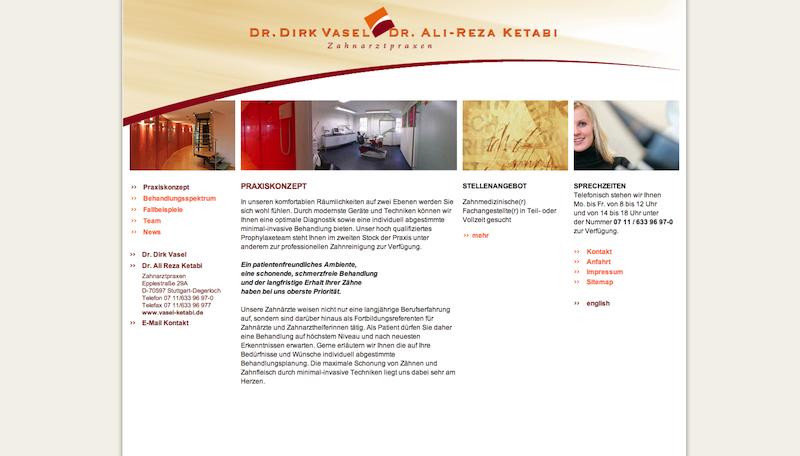 Zahnarztpraxen Dr. Vasel und Dr. Ketabi